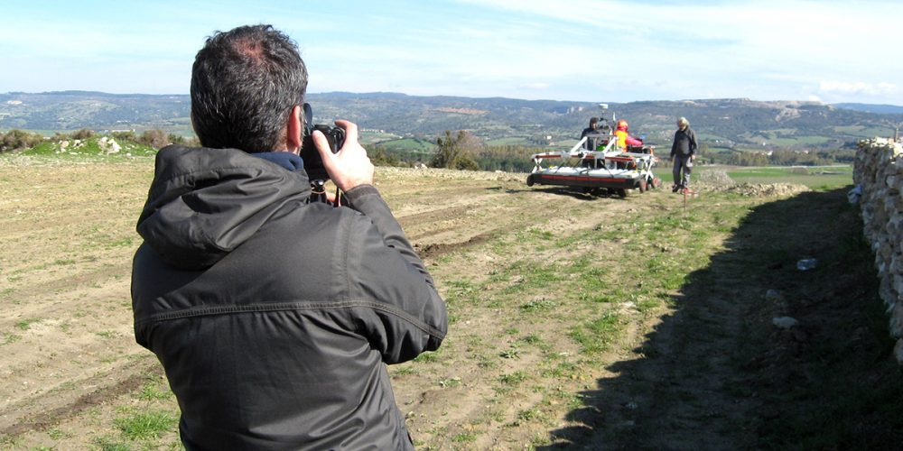 Geophysical surveys of Valenza